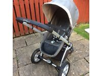 Used Mothercare pram and carrycot RRP £500
