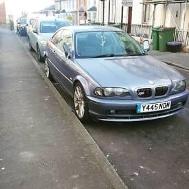2001 BMW e46 325ci m sport coupe