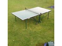 Jaques London Foldamatic Table Tennis Table / Ping Pong