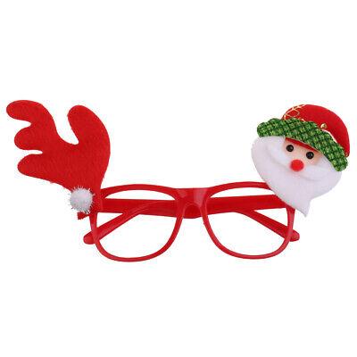 Weihnachts Brillen Rahmen Brillenfassung Weihnachtskostüm Weihnachtsgeschenk