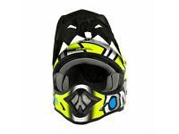 ONeal 3 Series RADIUM Motocross MX Motorcycle Crash Helmet Adjustable Peak