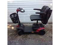 New Invacare Mobility Scooter, red Colibri model