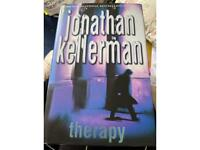 Jonathon kellerman therapy hardback book