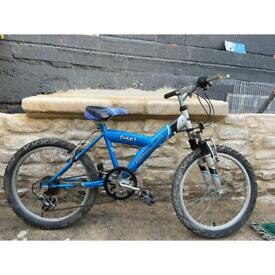 Apollo suspension mountain bike.