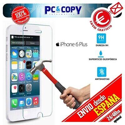 S431 Cristal templado protector pantalla iphone 6 Y 7 plus (5,5 pulgadas)Premium