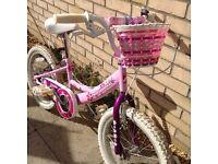 "Girls Professional Izzie 18""wheels bike"