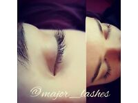Eyelash extensions semi permanent