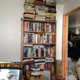 BOOK CLEARANCE, MORE BOXES/SHELVES FULL