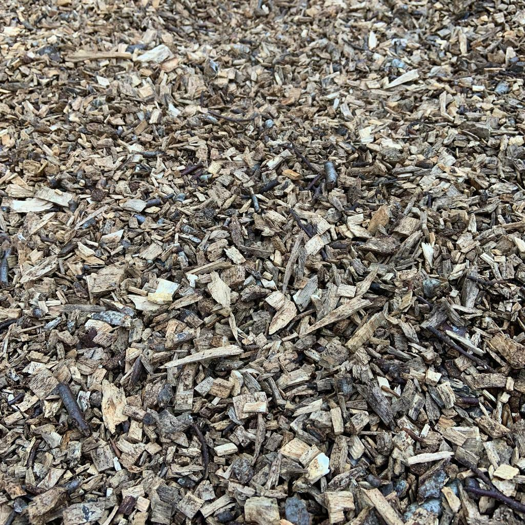 Bark Wood Chip Hardwood Chippings - 80L Bags | in ...