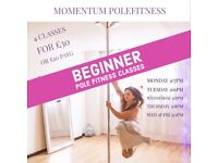 Pole Fitness Dance Classes for Beginners