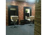 Private room available in salon