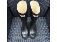 *Kids Hunter Wellies - Open to Offers*