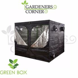 Hydroponics Pro Green Box Indoor growing Tent Grow Bud Room 2.4m x 2.4m x 2m UK