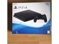 Sony PlayStation PS4 Black 500GB Console