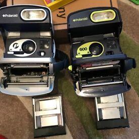 X2 Polaroid cameras