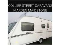 2008 abbey vogue 520/4 berth caravan + movers