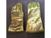 Pair of heatproof gloves