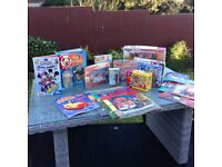 Jigsaw puzzles, books, DVD & game