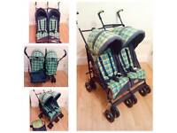 Kingswood double stroller with matching bag