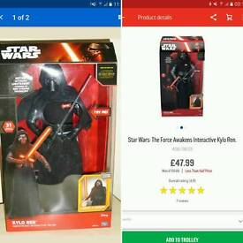 Star Wars Kylo Ren Talking Figure - 17 inch