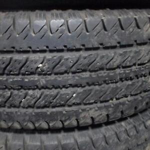UNIROYAL LAREDO LT235/75R15 C PLY TIRES 90% TREAD