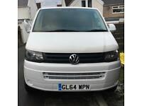 Vw T5 Transporter 2015 no vat