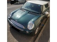 Good condition mini cooper 2002 for £995, Long Mot
