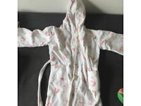 Little White Company dressing gown age 6-7