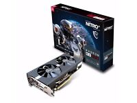 BARGAIN Sapphire - Radeon RX 570 8GB NITRO+ Video Card as New boxed.