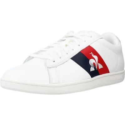 LE COQ SPORTIF COURTCLASSIC FLAG couleur Blanc