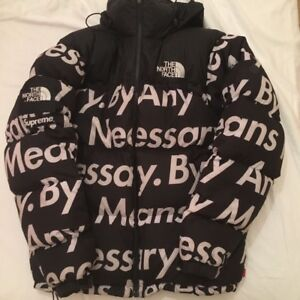 SUPREME X THE NORTH FACE SIZE M BY ANY MEANS NECESSARY JACKET