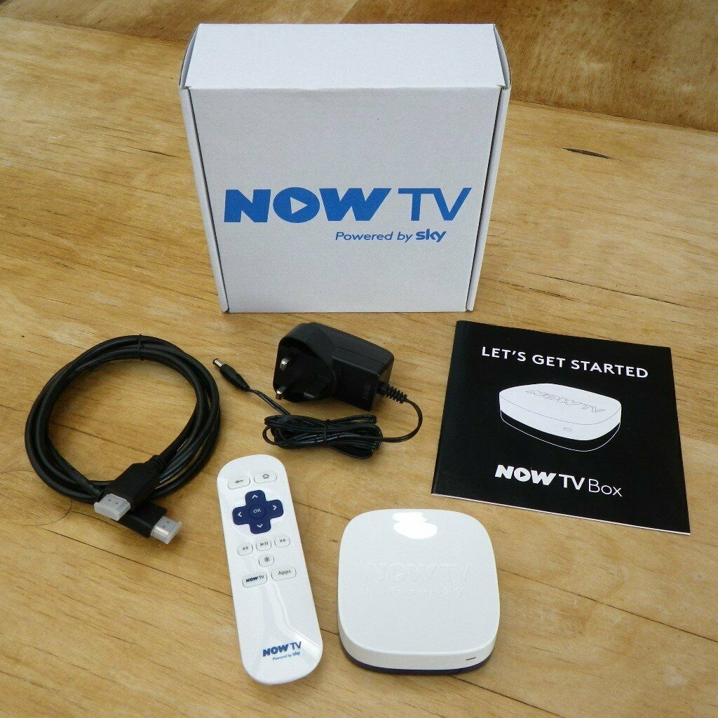 NOW TV Box (White 2400SK Version), Boxed and Complete | NOWTV | in  Bournemouth, Dorset | Gumtree