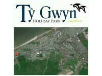 8 berth Caravan rental ty gwyn towyn wales