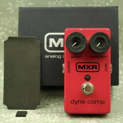 MXR M102 Dyna Comp With original box Guitar effect pedal (MMI12V085)