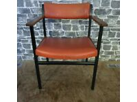 Vintage Chair, Metal Frame