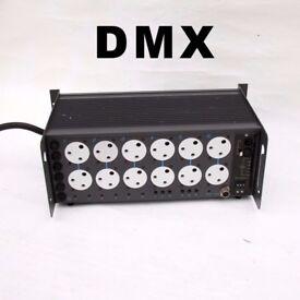 strand act 6 dmx dimmer packs