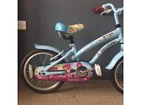 Children's bike (girls) aged 4 & upwards.