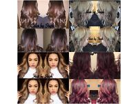 Hair extensions, mobile hair, balayage, cuts 15 yrs experience.