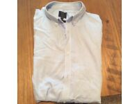 "Men's Long Sleeved Shirt 16.5"" collar"