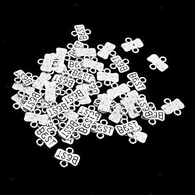 50pcs BEST Carving Tiny Small 13x12mm for Earring Dangle Charms