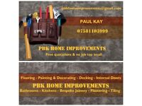 PBK Home Improvements. One stop shop for all your Home Improvement needs