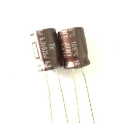 New 10PCS 6.3V 220UF SMD Aluminum Electrolytic Capacitors Size 6*5MM 6mmx5mm