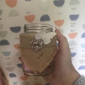 50 Rustic Jars