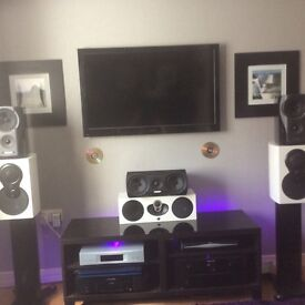 Mission Stereo speakers 790 + 79C se