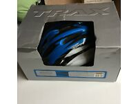 Sirocco Blue and white bicycle helmet size M (54-58cm)