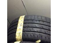 265/35/18 Continental tyre good tread