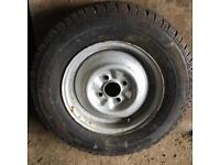 Caravan/trailer 175R13C wheel and tyre