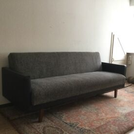 Original vintage sofa bed, comfortable, in good condition with strong mechanism.