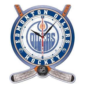 2 Brand New - NHL Edmonton Oilers Clocks