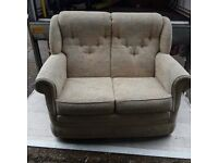 2 Seater Patterned Sofa